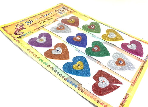 Decorative Sticker (for craft project ) ( 12 pcs )