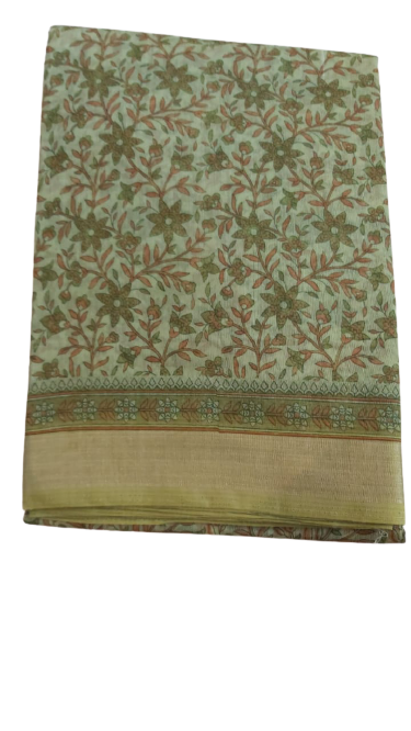 Pure Cotton Saree with Blouse