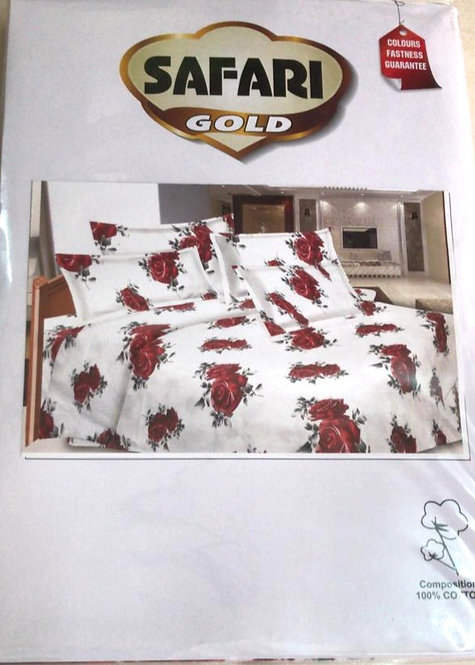 pure cotton double bedsheet with 2 pillow cover