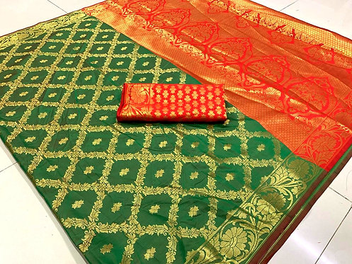 Exclusive Banarsi Silk Saree