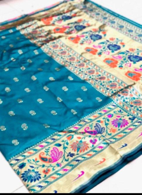 Paithini Saree ( with blouse )