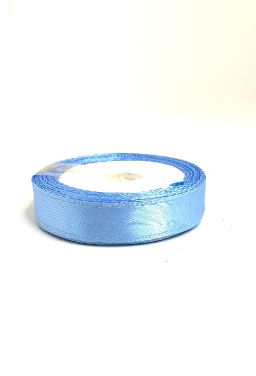 Satin Ribbon ( sky blue colour ) ( 1/2 inch thick,10m length)