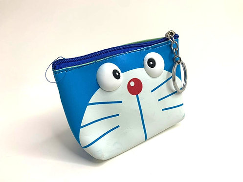 3D Eye Cartoon Wristlet/Purse PU Leather  ( small size )