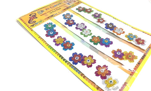 Decorative Sticker ( for craft project ) ( 12 pcs )