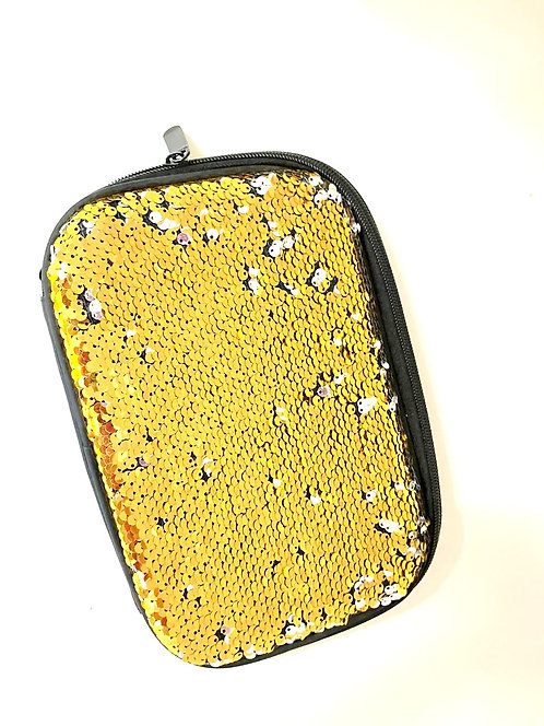 Sequin  Changing  pouch
