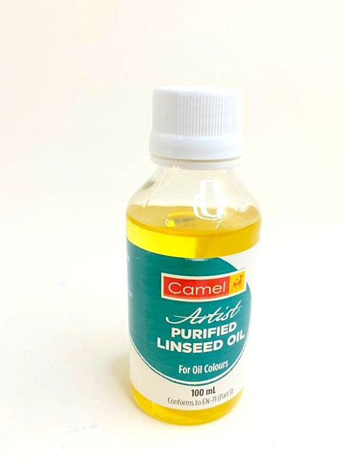 CAMLIN Artist Purified Linseed Oil For OiL Colours ( 100ml )
