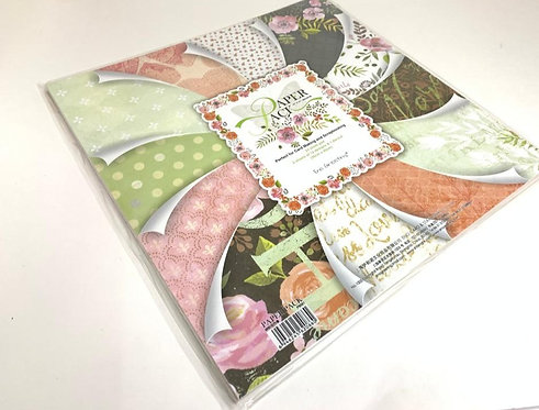 Printed Wrapping Paper Book ( 30 cm by 30 cm ) ( 24 sheet pad )