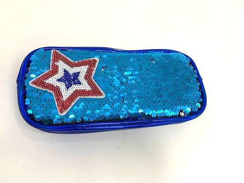 Star Sequins Changing Pouch