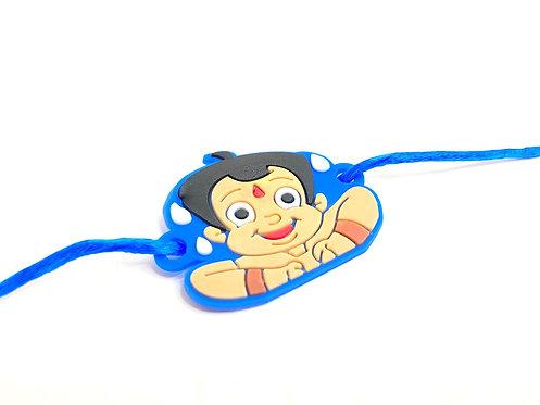 Chhota Bheem Cartoon Character Rakhi For Kids