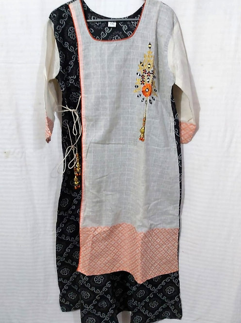 Cotton long gown (size xxl )