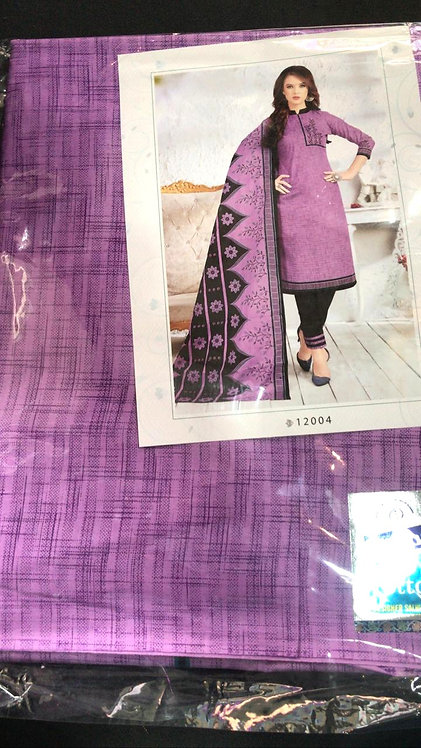 Pure Cotton Dress Material With Cotton Dupatta
