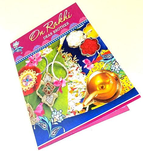Rakhi Greeting Card Small Size