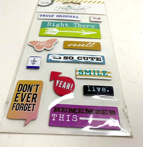 3D Stickers for scrapbook/decoration /card making