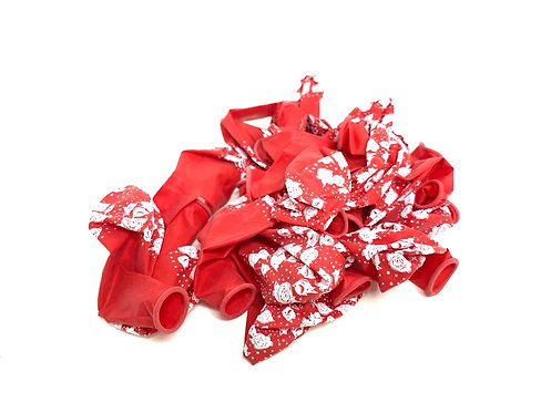 Large Size Balloons (20 pcs ) ( red printed colour )