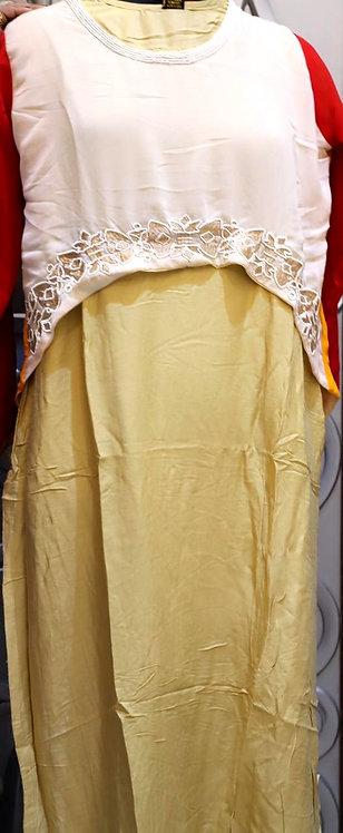 Stylish Rayon silk kurti