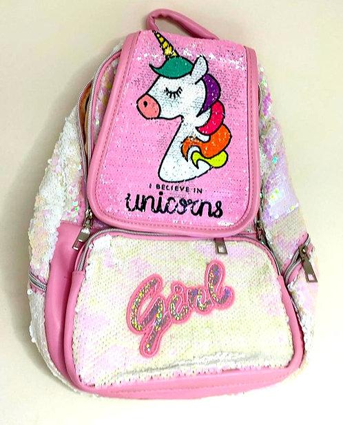 37cms Magic Colourful Unicorn Bag