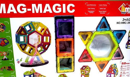 Mag -Magic Creativity Theme Brain Development Magnetic 3D Blocks