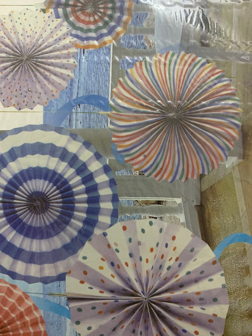 Decorative Paper Fan (small)