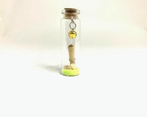 Decorative Glass Message Bottle