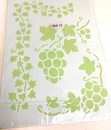 Templates Stencil For Painting On Cloths & Different Surface( 12x8 )
