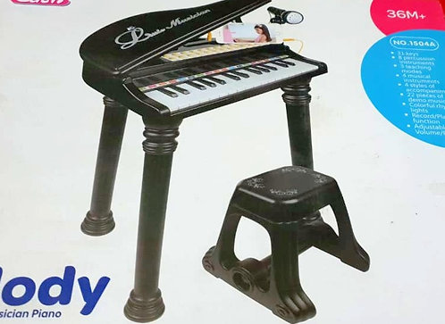 31 Keys Mini Playing With Microphone Piano For Kids Connect Mp3