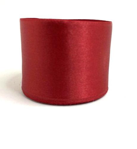 Satin Ribbon ( maroon colour ) (2 inch thick ,10m length)