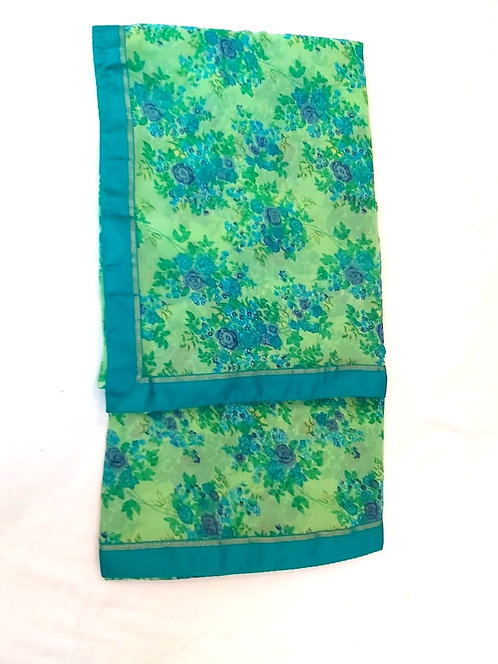 Soft Georgette Saree( with blouse )