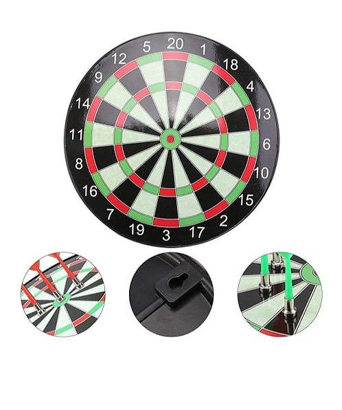 Magnetic Dartboard Set -17inch Dart Board With 6 Magnet Darts