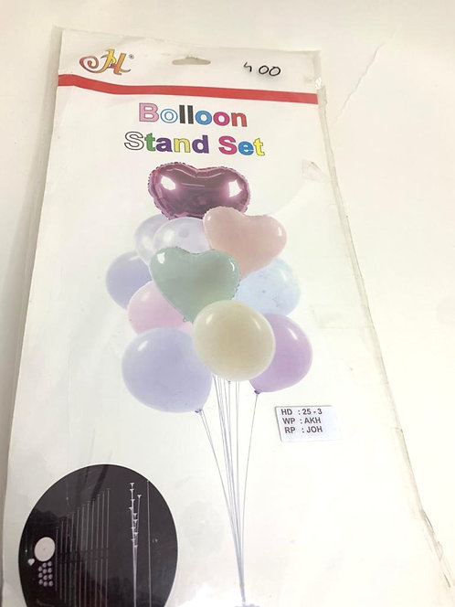 Balloon stand set (with glossy balloons )