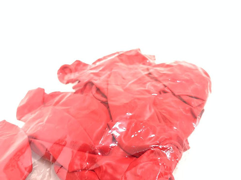 Large Size Balloons (20 pcs ) ( metalic  red  colour )