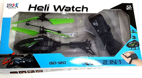 Heli Watch GD -120 ( watch gravity sensor one button start )