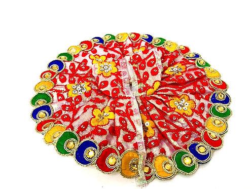 heavy work laddu gopal dress ( size 5 )