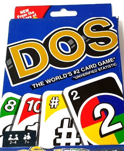Dos The World Famous Card Game From Makers Of UNO