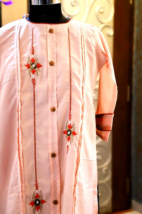 Exclusive party wear silk kurti ( size S )