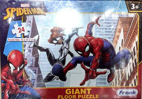 MARVEL Spiderman Giant Floor Puzzle ( 24 pcs ) ( age 3 + )