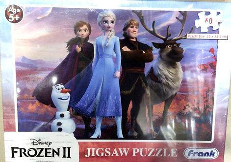 DISNEY frozen puzzles ( 60 pcs ) ( age 5 + )