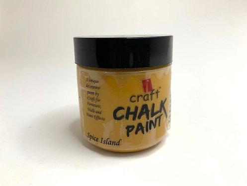 Craft Chalk paint (spice island )
