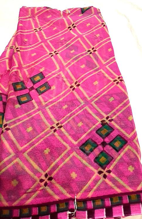 chiffon saree without blouse