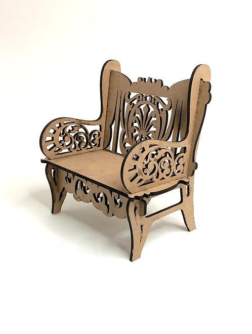 Decorative Wooden Sofa (small size )