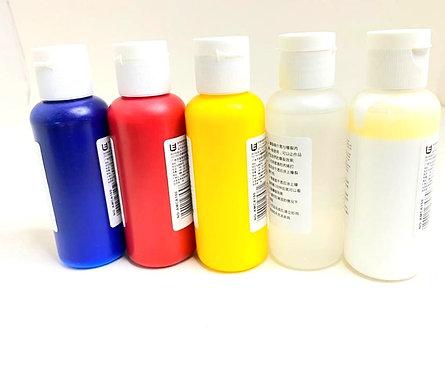 Crackle Acrylic Colour ( 5x100ml )