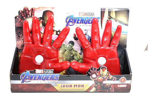 Iron Man gloves with light (6+Ages)