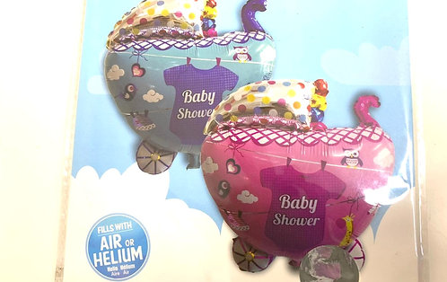 Baby Shower Balloon (Fills With Air Or Helium )