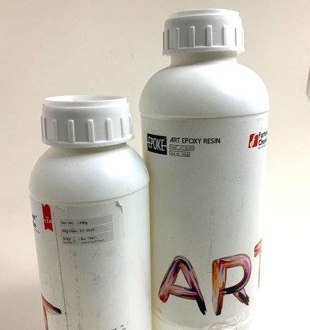 EPOKE Art Epoxy Resin (small bottle of resin free)