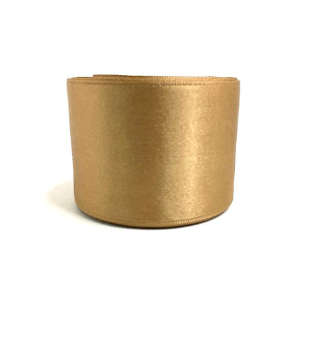 Satin Ribbon ( copper colour ) (2 inch thick,10 mtr lenth )
