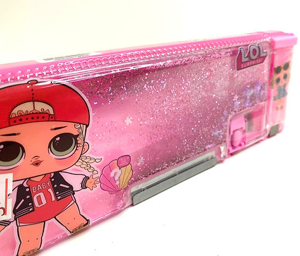 LOL Pink Themed Pencil Box