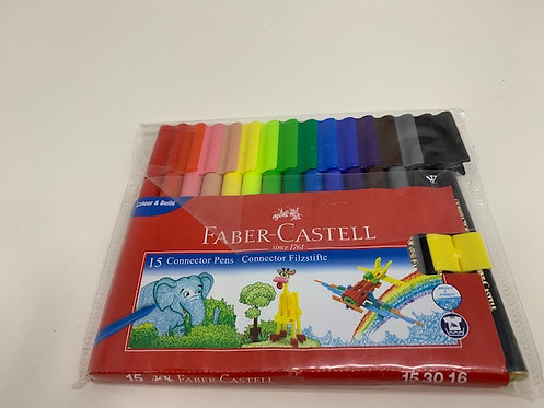 FABER-CASTELL 15 Connective  SketchPen