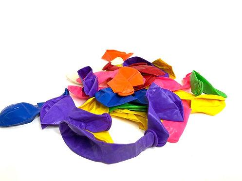 Metalic Multi Colour balloons (30 pcs )