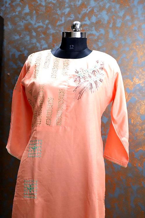 silk fabric kurti ( size XL )