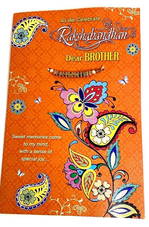 Rakhi Popup  Greeting Card With Rakhi