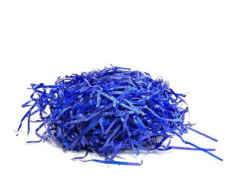Glitter Paper Grass (blue colour )